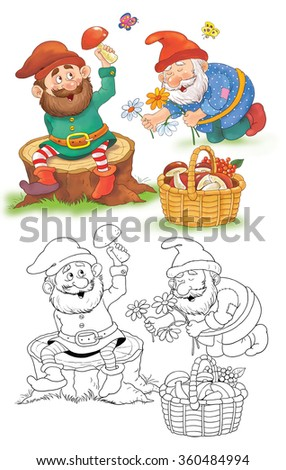 Snow White And The Seven Dwarfs Stock Images, Royalty-Free Images ...