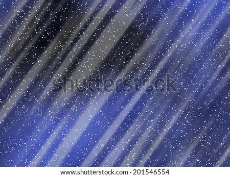 snowfall backgrounds of a night time - stock photo