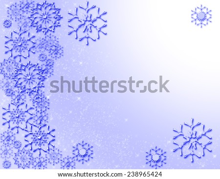 snowflakes background for christmas