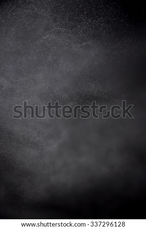 Snowstorm texture,Water dust in motion like snow,Watercolor background