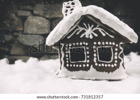 gingerbread house black gingerbread cottage stock images royalty free images vectors
