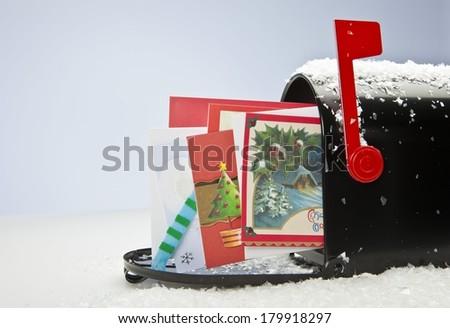 Snowy Mailbox Stock Photo 179913770 : Shutterstock
