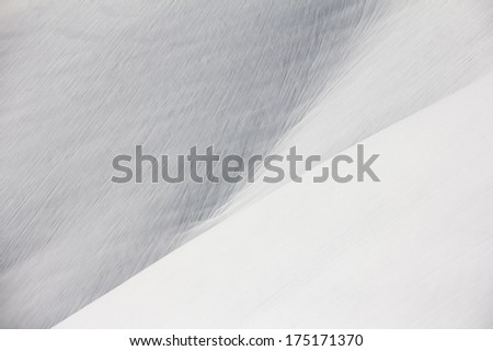 Snowy mountain slope background