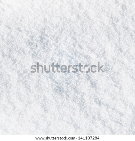 Snowy surface as background - stock photo