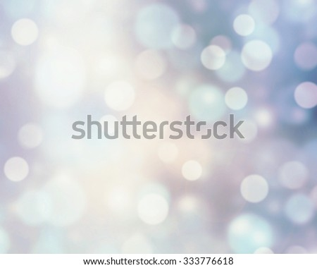 Snowy white&blue blur background. - stock photo