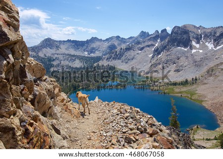 Snowyside Pass, Sawtooth National Wilderness, Idaho