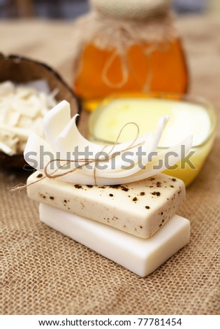 soap - stock photo