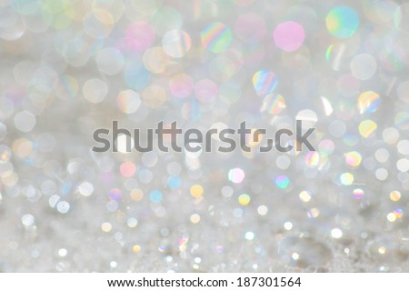 soap bubble Rainbow - stock photo