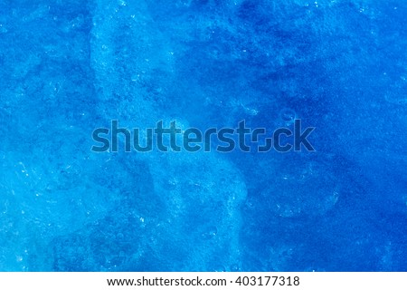 Soapsuds background with air bubbles. - stock photo