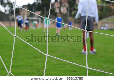 Soccer. - stock photo