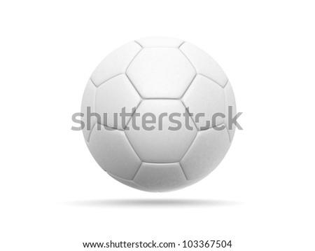 soccer ball - 3d render illustration - stock photo