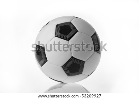 Soccer ball isolated