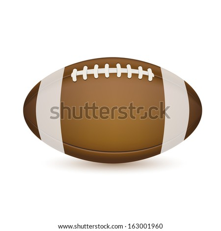 Soccer ball isolated on white. Raster version. - stock photo