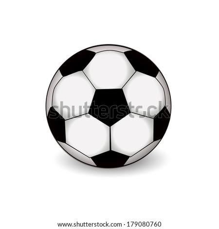 soccer-ball. Raster - stock photo