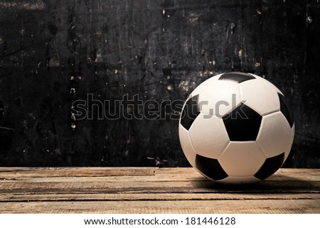 soccer football.  - stock photo