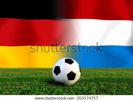 Soccer 2014 ( Football ) German and Netherlands