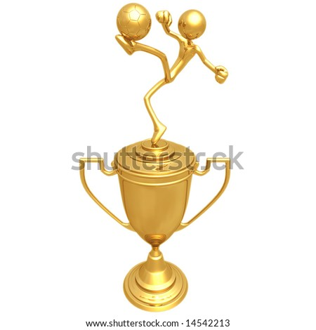 Soccer Football Trophy