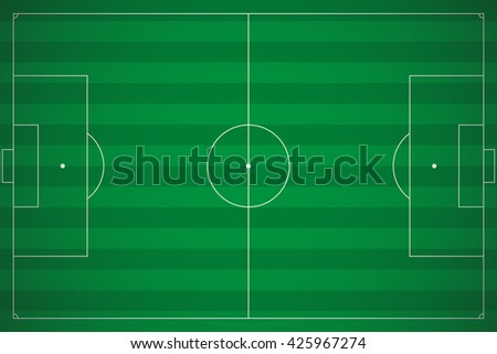 soccer or football poster. - stock photo
