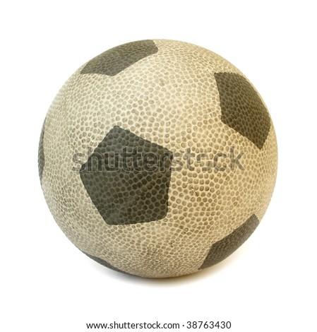 soccer rubber ball for children - stock photo