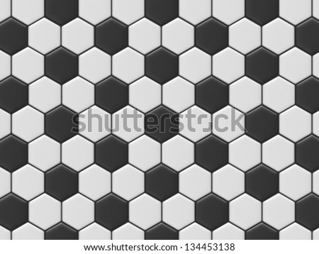 Soccer texture - stock photo