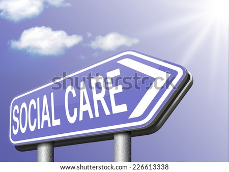 social care or health security healthcare insurance pension disability welfare and unemployment programs  - stock photo