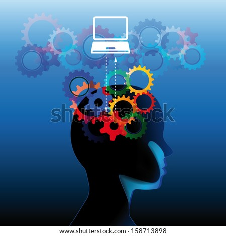 Social education communication concept - stock photo