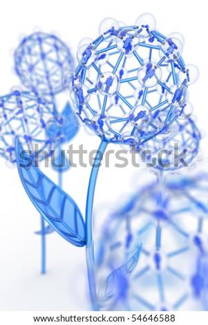 Social groups. Hi-res digitally generated image. - stock photo