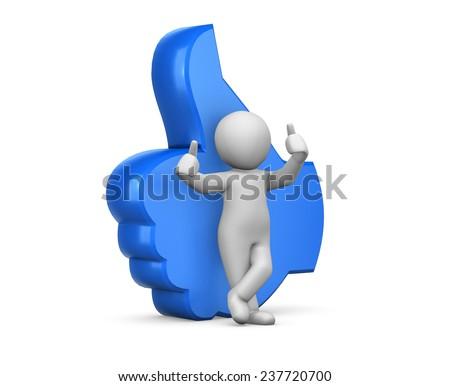 social media symbol, social media - stock photo