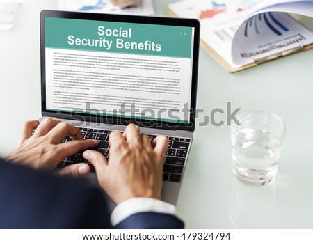 Social Security Benefits Agreement Concept