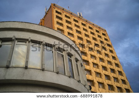 Modern Architecture Era modernist architecture stock images, royalty-free images & vectors