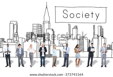 Society group finding