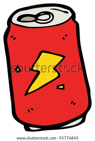 soda can cartoon stock illustration 95776843 shutterstock rh shutterstock com Soda Can Cartoon Clip Art cartoon pictures of soda cans