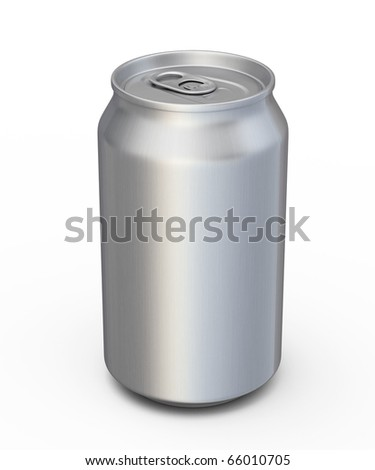 soda drinks can (clipping path)