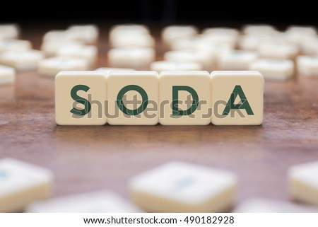 SODA word on square concept