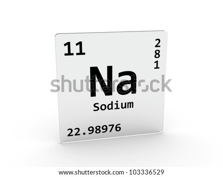 Sodium symbol na element periodic table stock illustration 103336529 sodium symbol na element of the periodic table urtaz Gallery