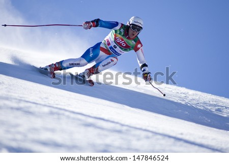 SOELDEN AUSTRIA OCT 26, Marc Berthod SUI  competing in the mens giant slalom race at the Rettenbach Glacier Soelden Austria, the opening race of the 2008/09 Audi FIS Alpine Ski World Cup