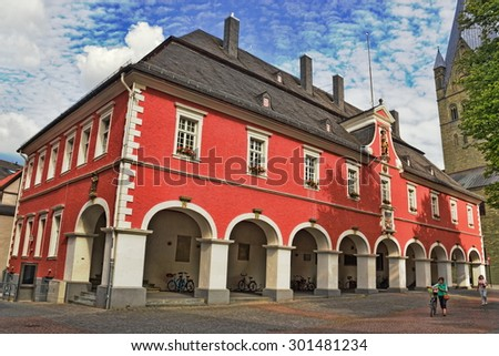 Soest City Hall - stock photo
