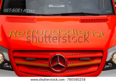 German fire department stock images royalty free images for Mercedes benz service charges