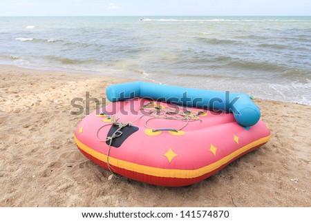 Sofa Boat , Lifeboat Or Banana Boat Cycle Type