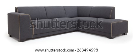 Sofa, Scandinavian furniture - stock photo