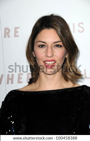"Sofia Coppola at the Premiere Of Focus Features' ""Somewhere,"" Arclight Theater, Hollywod, CA. 12-07-10"