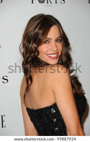 Sofia Vergara at the ELLE Women in Television party, SoHo House, West Holly, CA. 01-25-11