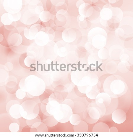 Soft  Bright Abstract Bokeh Background  in Shades of Red, Soft Glow of the Sun , Defocused Lights - stock photo