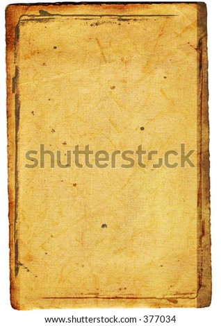 soft brown stained surface with burnt edges and spekle for background use