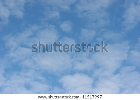Soft Cloudy Sky for Backgrounds