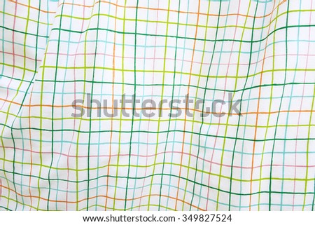 soft-color background with colored stripes pattern - stock photo