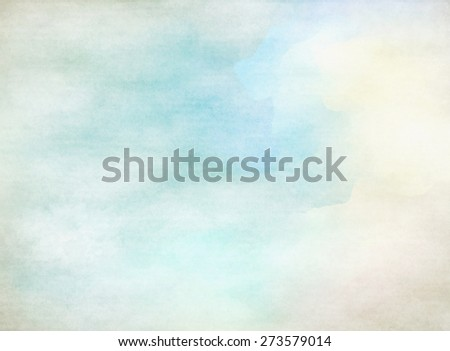 Soft colored abstract background for design. Watercolor texture  - stock photo