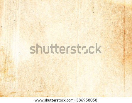 Soft colored vintage paper sheet texture for artistic design