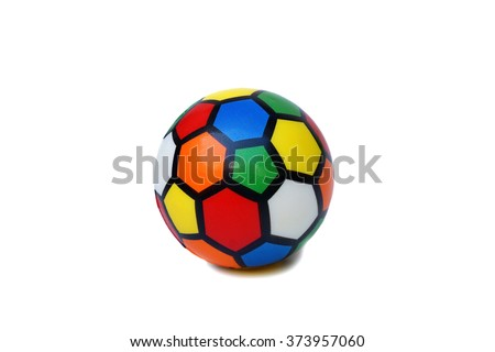 soft colorful ball - stock photo
