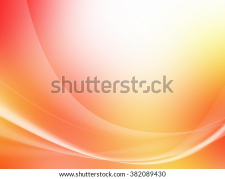 Soft colorful Curved Abstract Background - stock photo